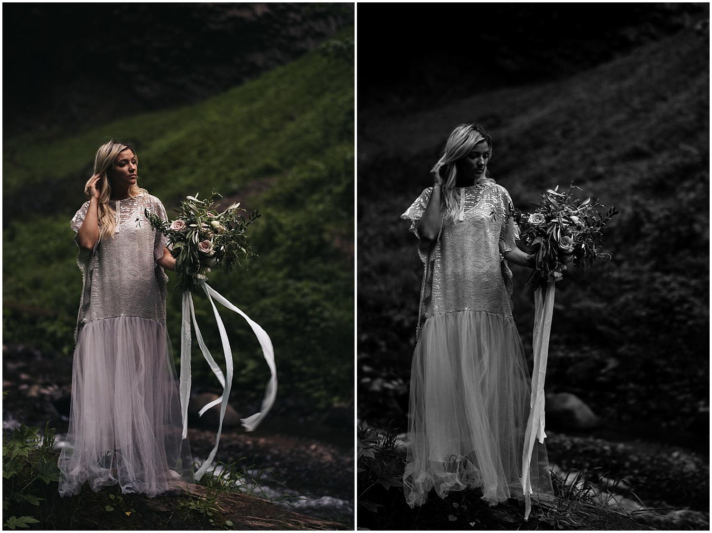 dusty blush bride bouquet