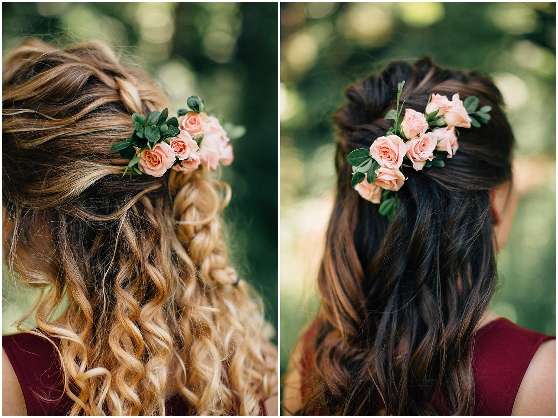 Bridesmaids hair inspiration