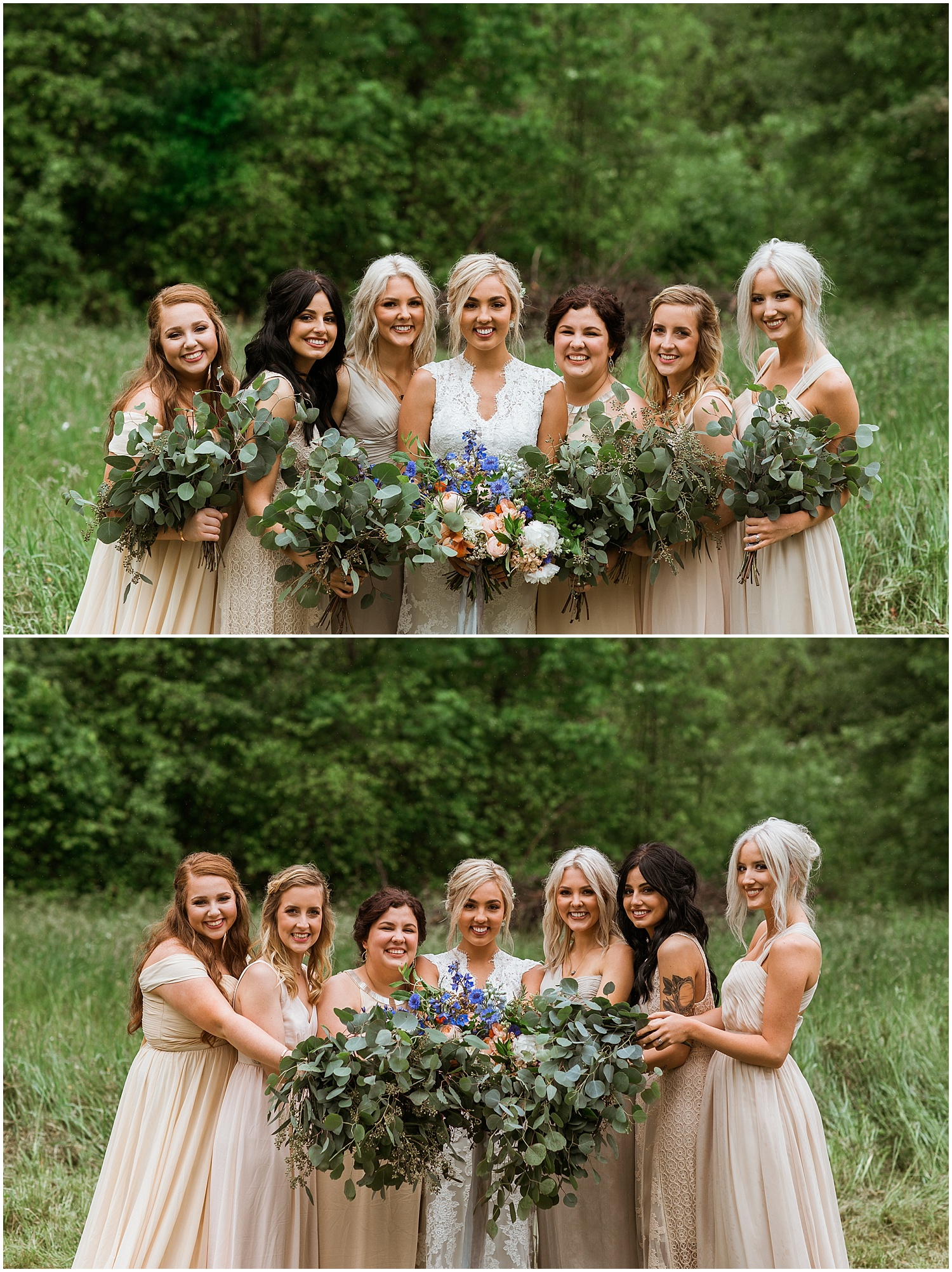 Good Seed Floral Design beautiful wedding party