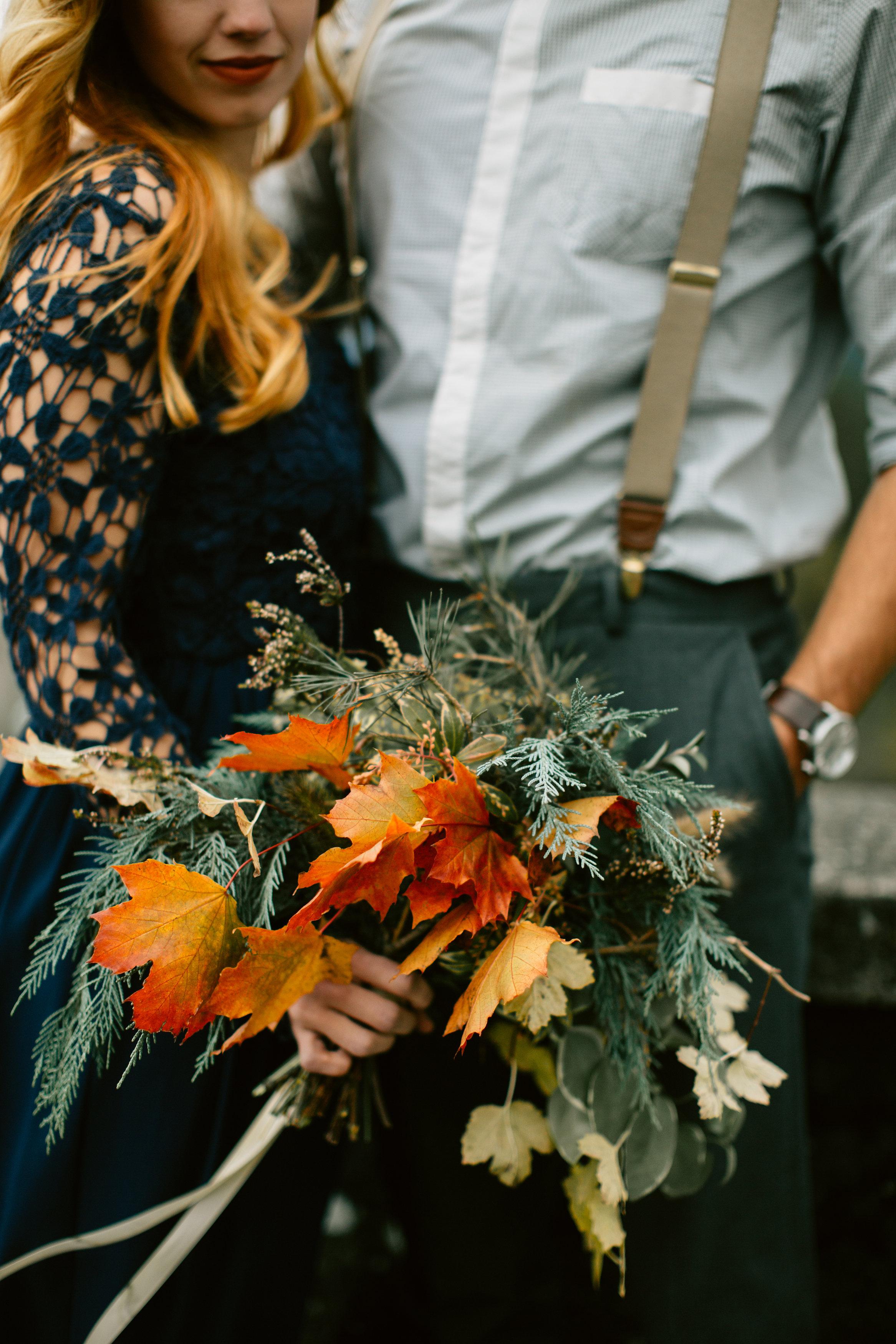 Good Seed Floral Design autumn bridal bouquet