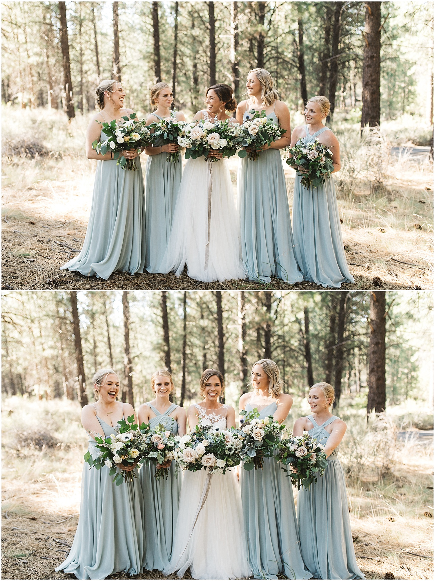 Good Seed Floral bridesmaids bouquets
