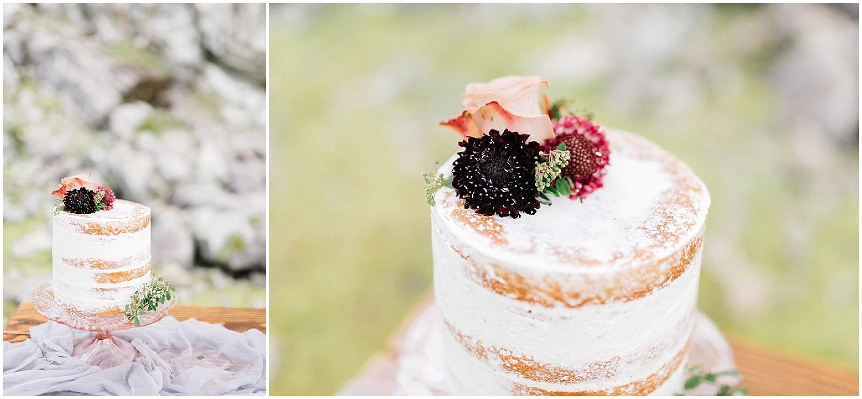 dark cake florals