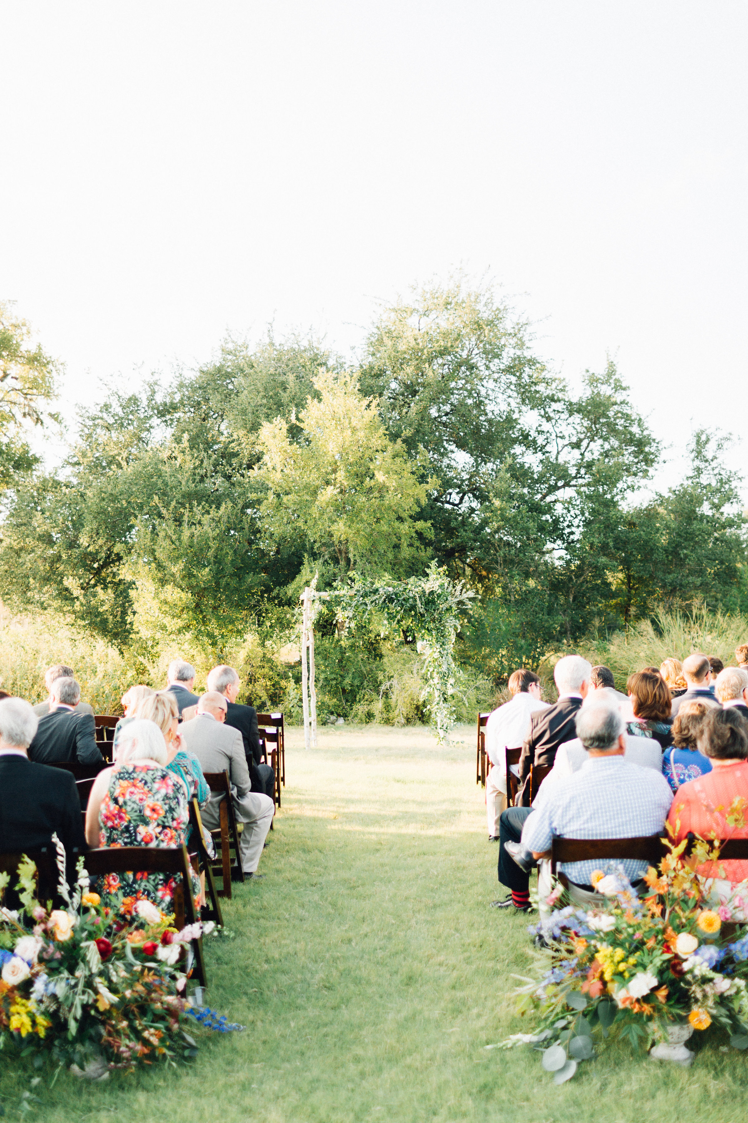 asymetrical wedding arbor