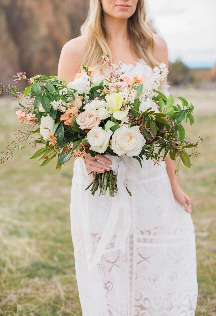 light floral bouquet