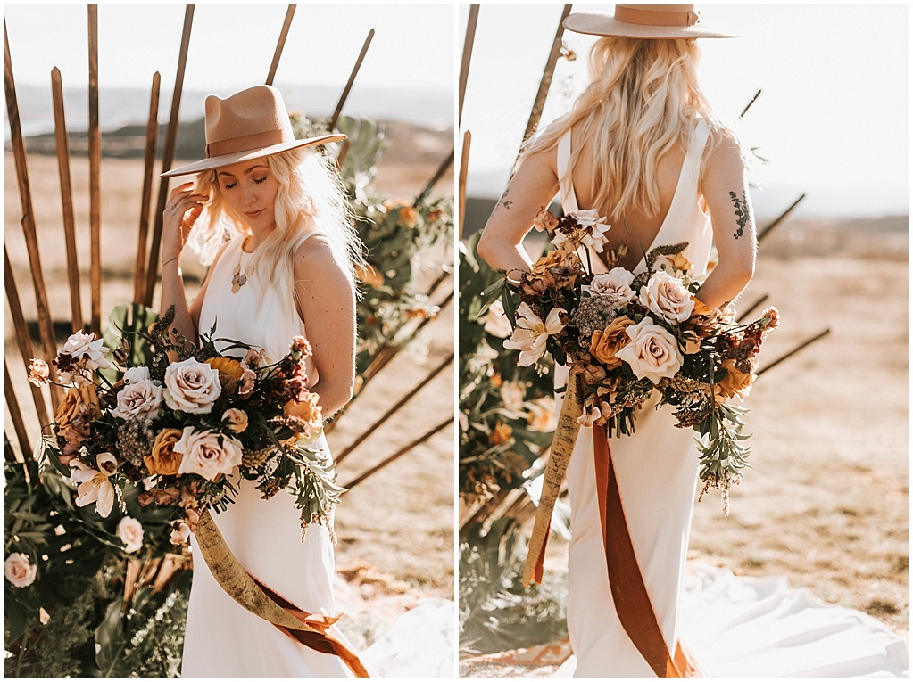 tattoos and wedding flowers