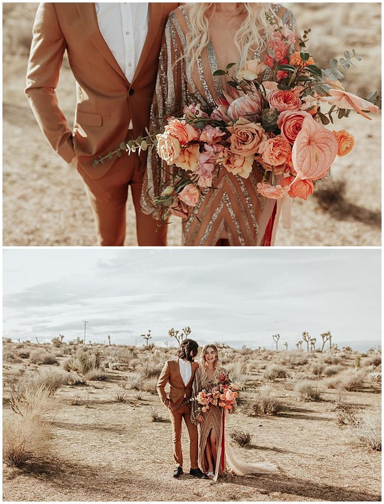 high desert wedding photoshoot
