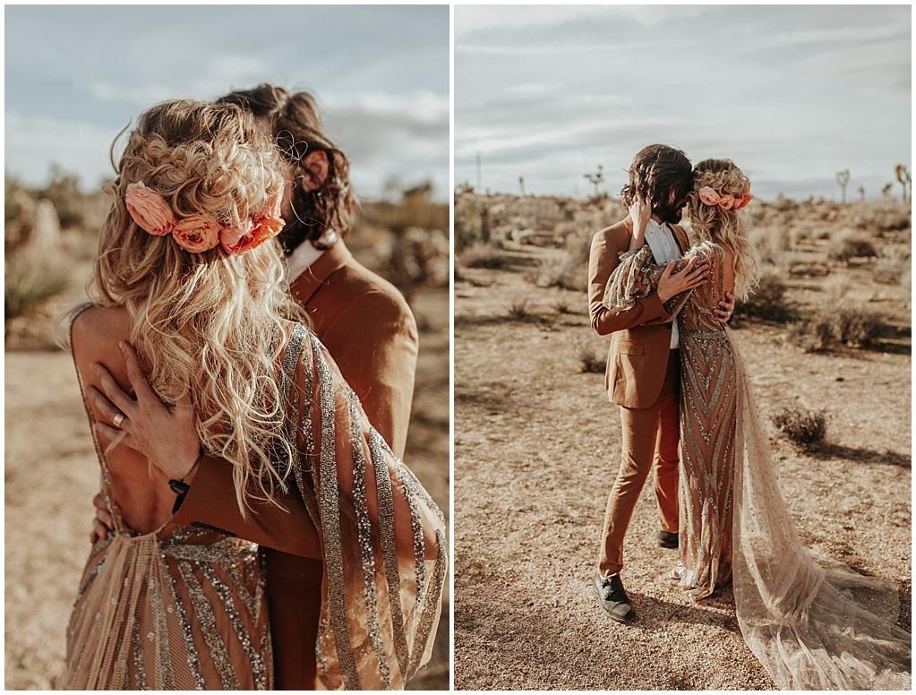 peach hair florals