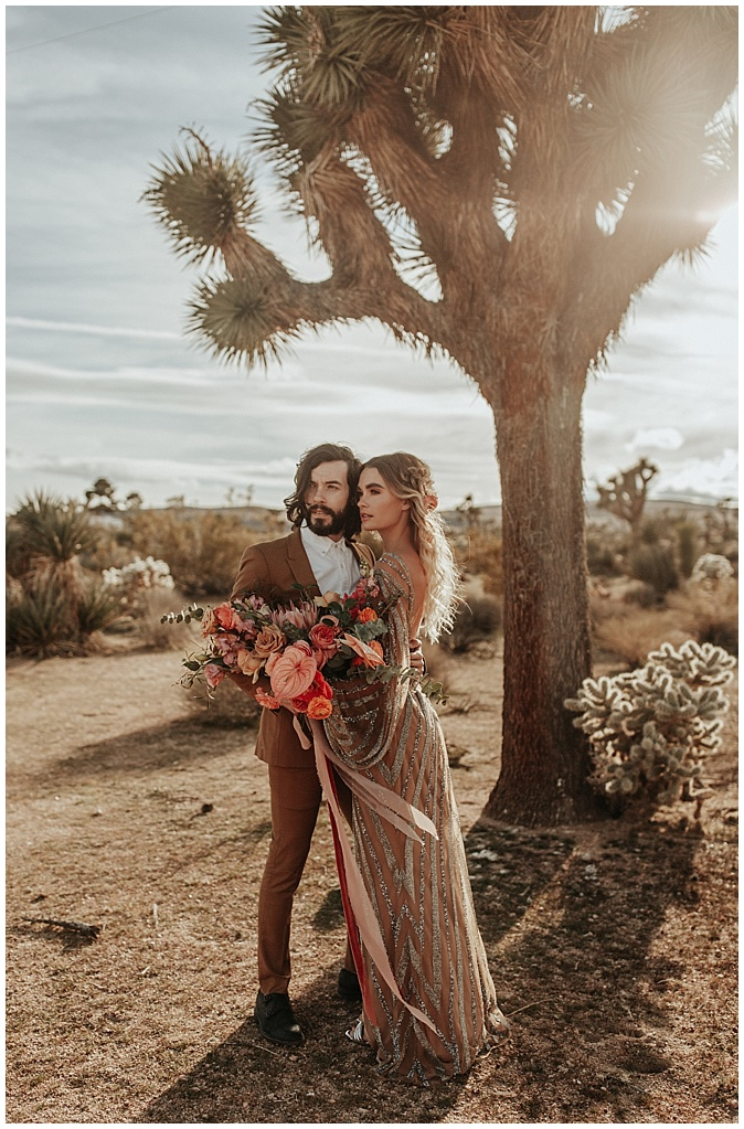 high desert boho bouquet