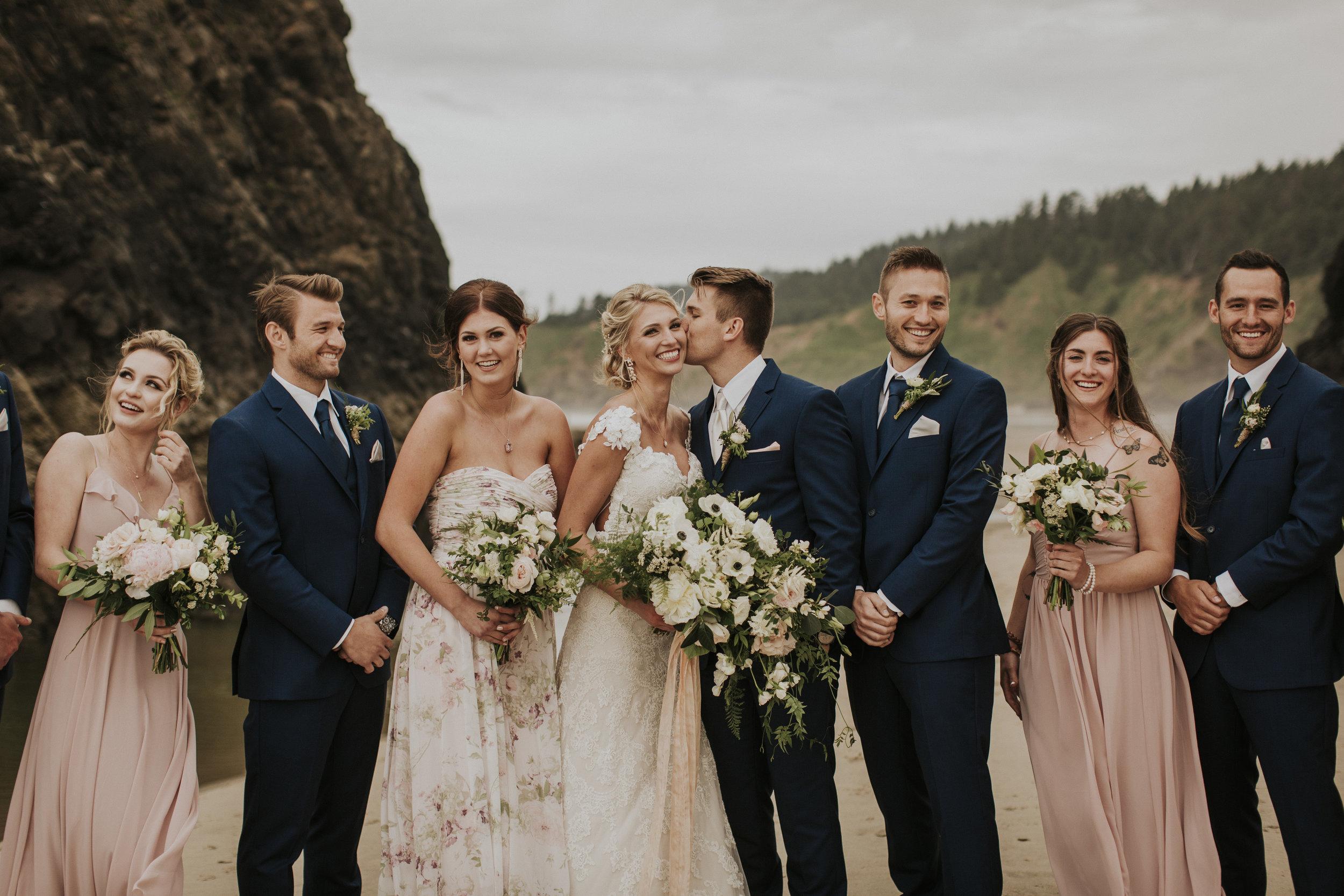 light bridal bouquet