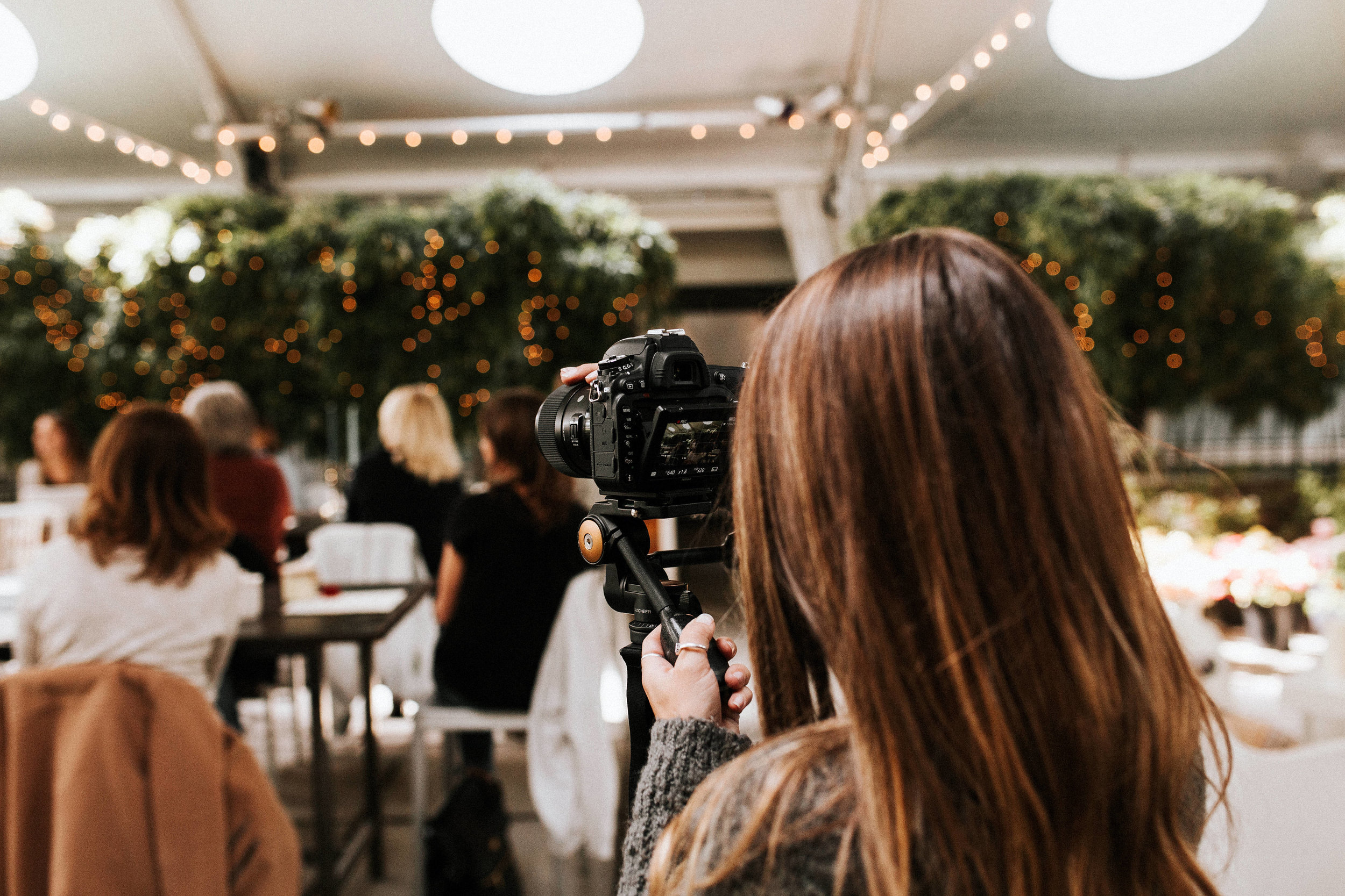 photogaphing a wedding themed styled shoot