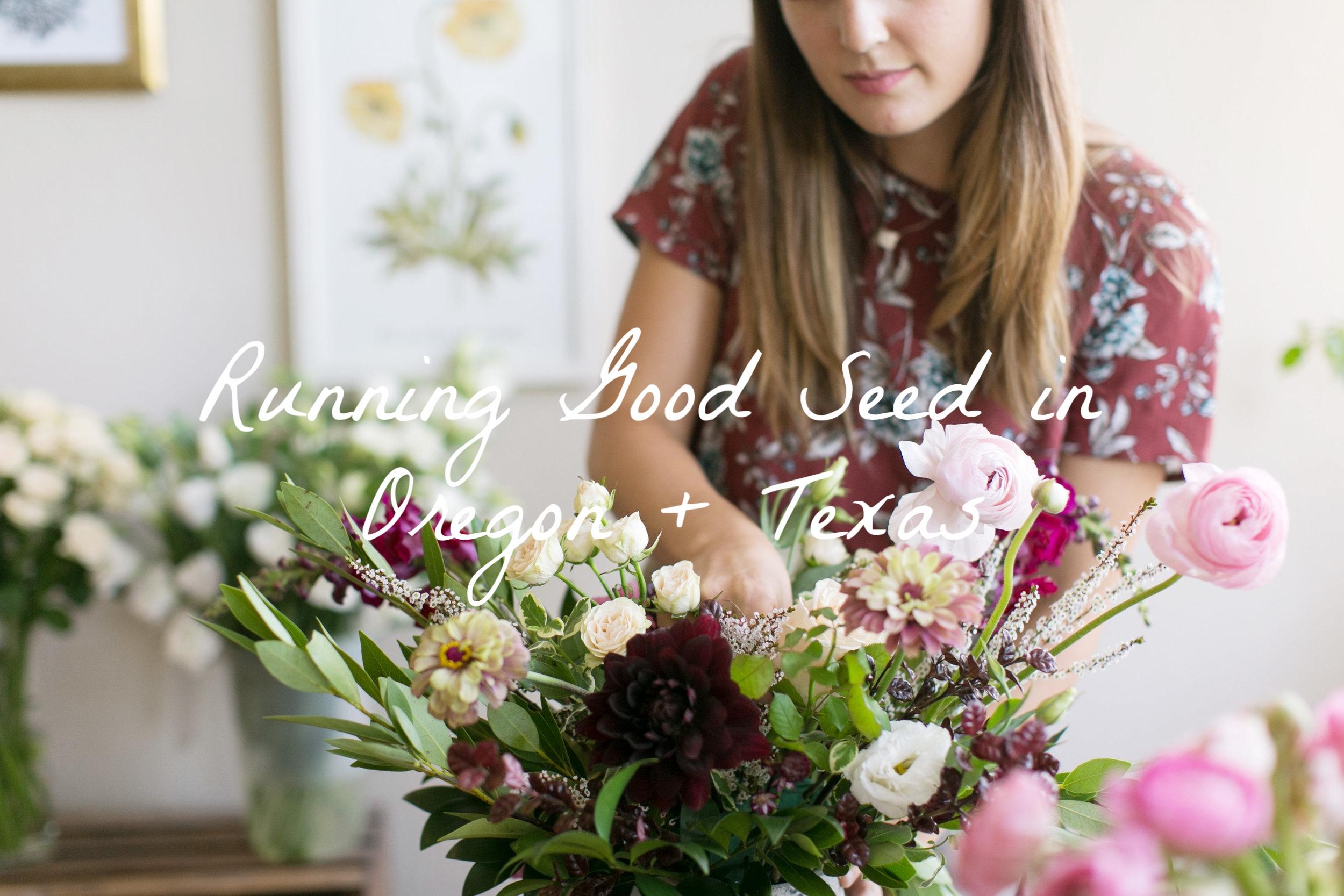 in studio floral design