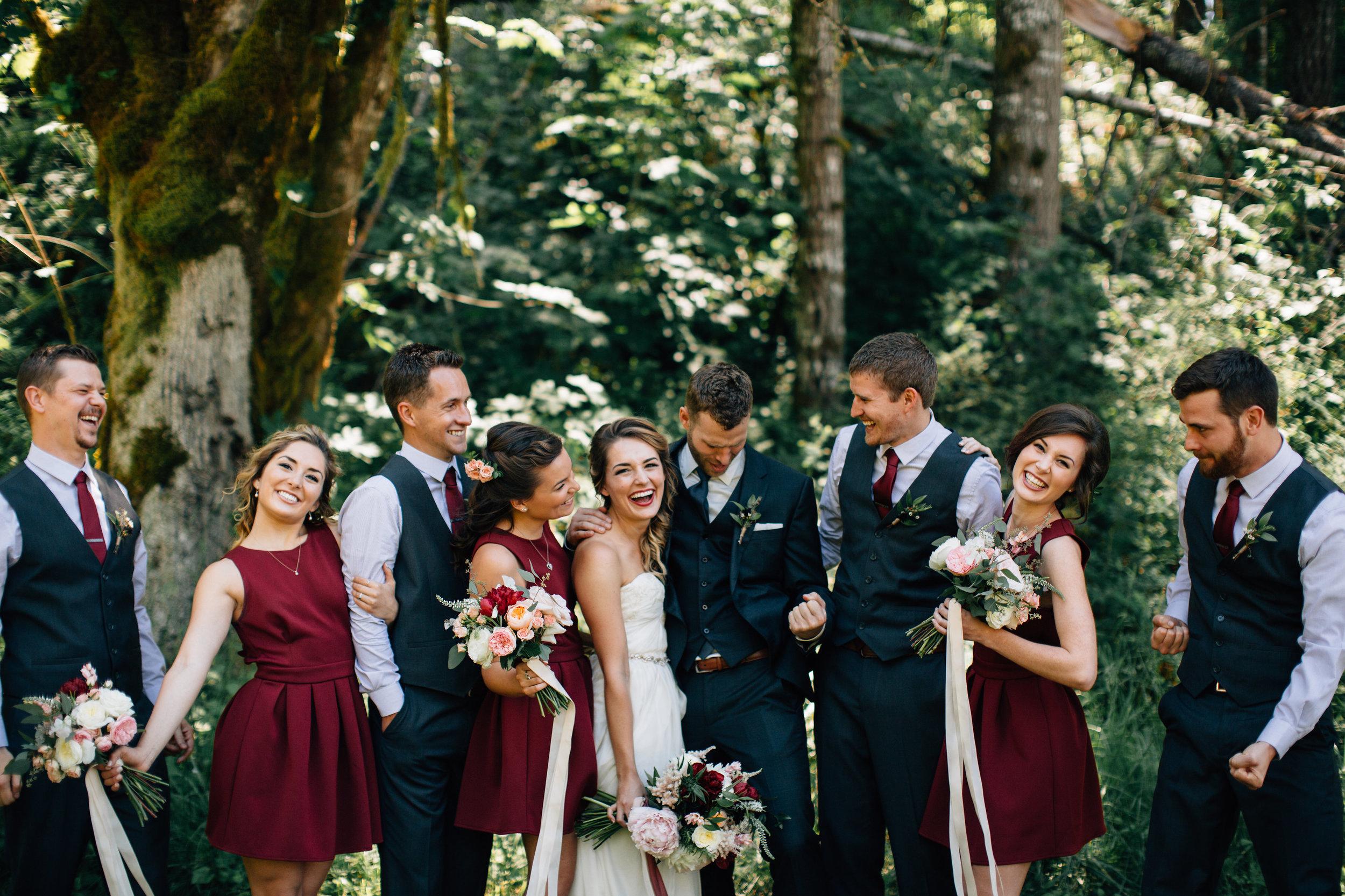 WIlamette Valley barn wedding