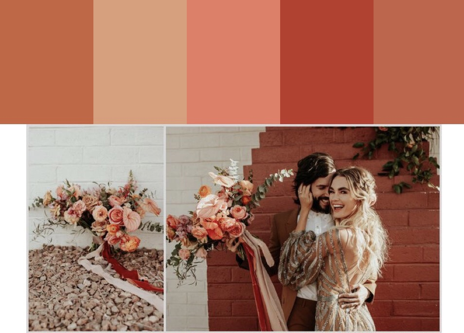 Wedding colors inspiration