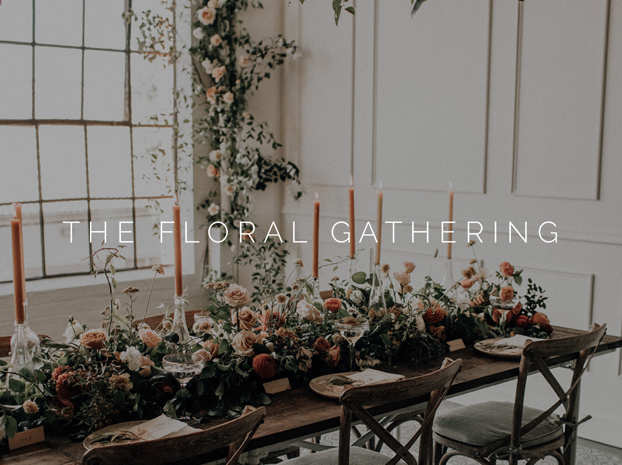 the floral gathering