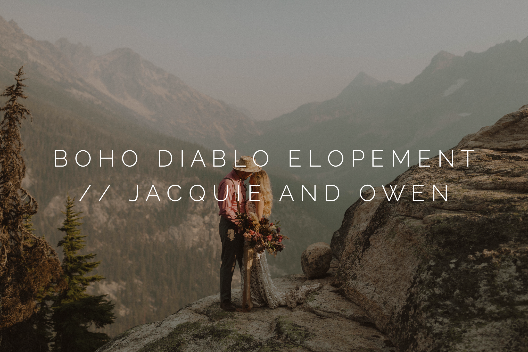boho wild intimate elopement