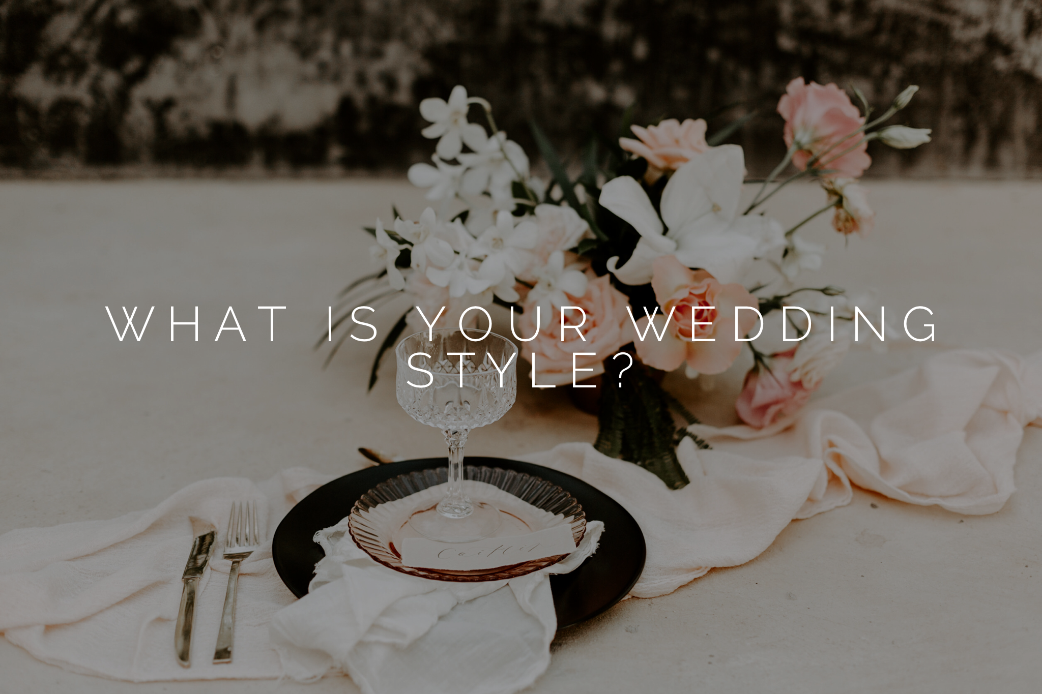 what is your wedding style portland wedding forist