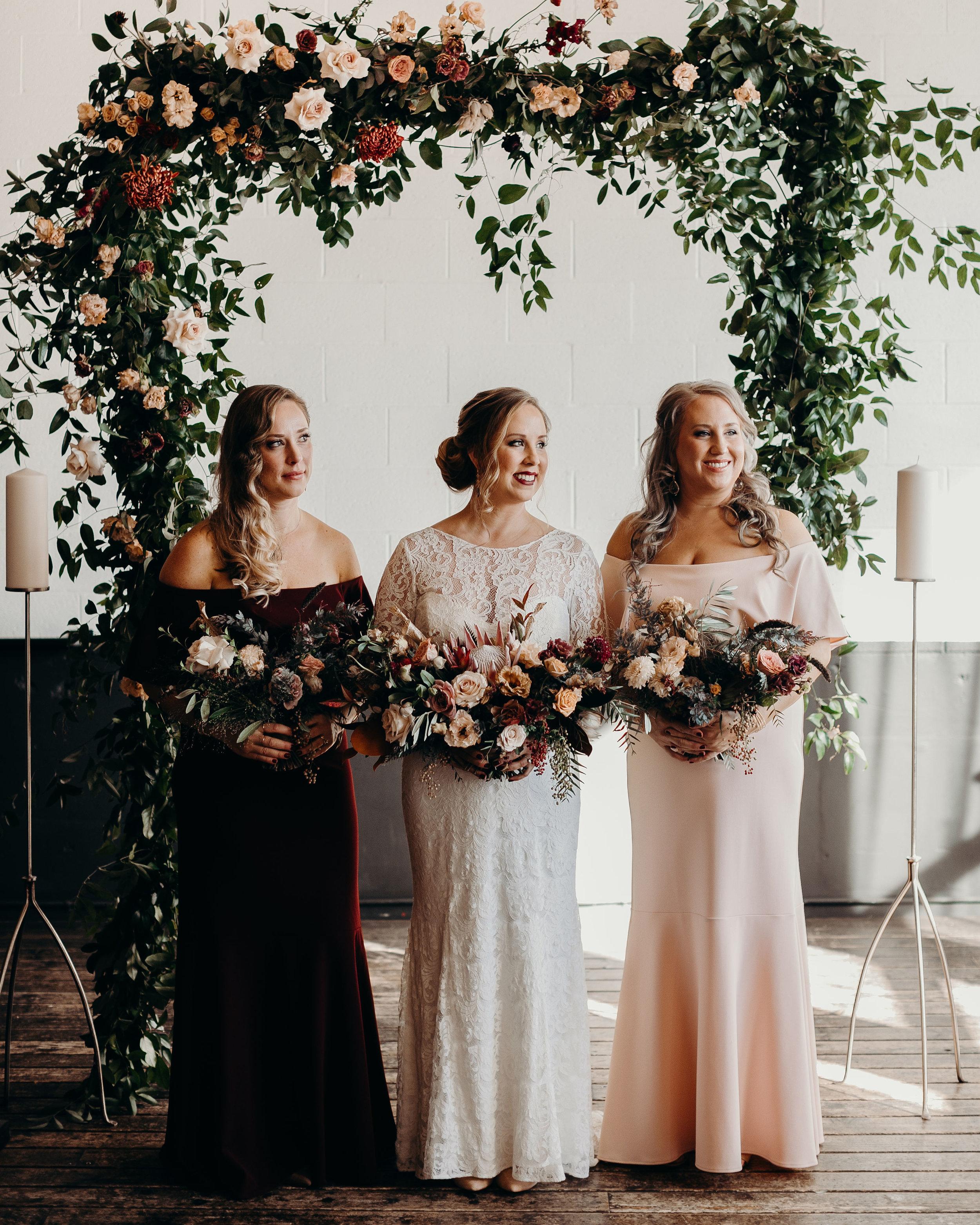 romantic bridal bouquet portland wedding florist