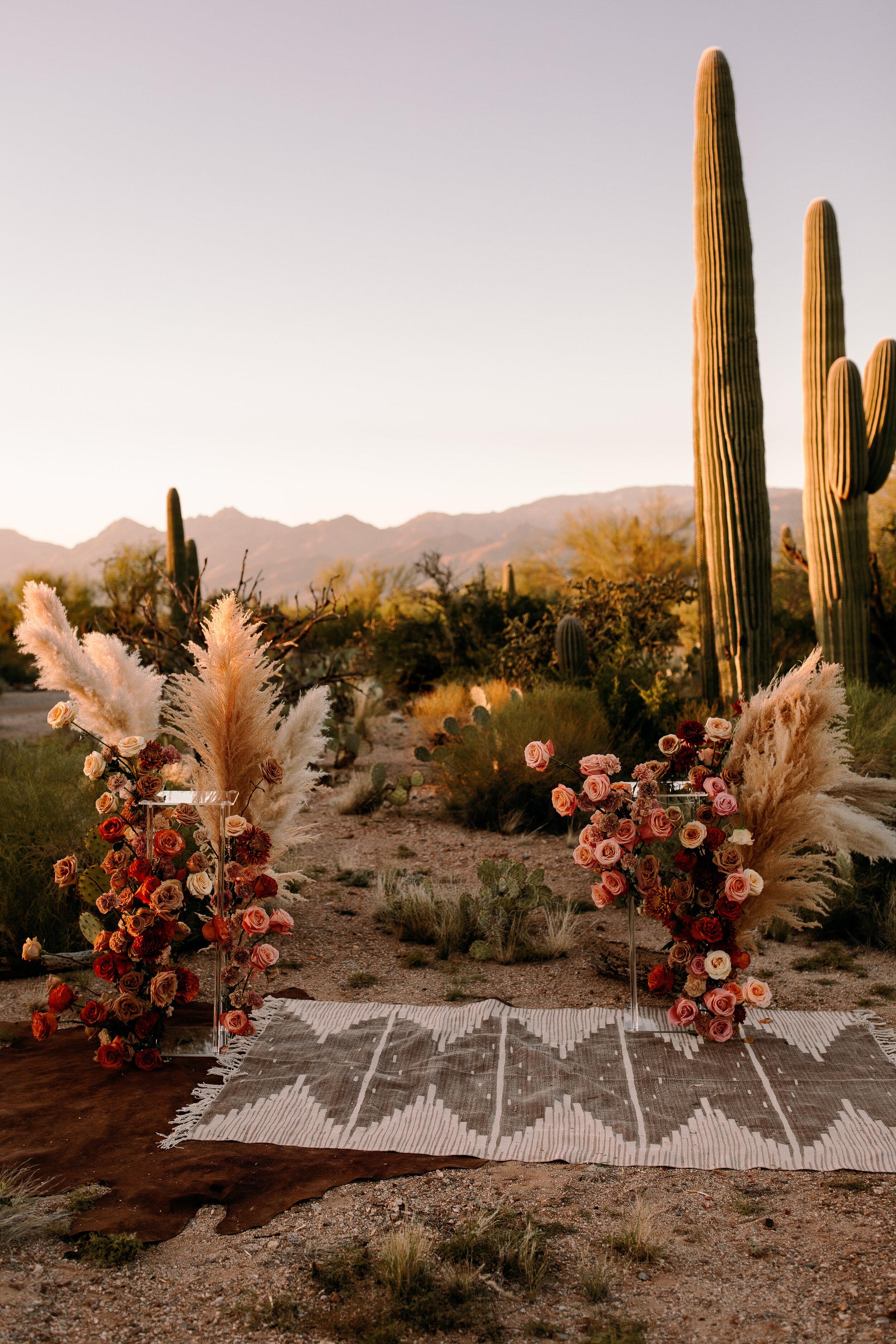 floral installations boho romantic austin florist