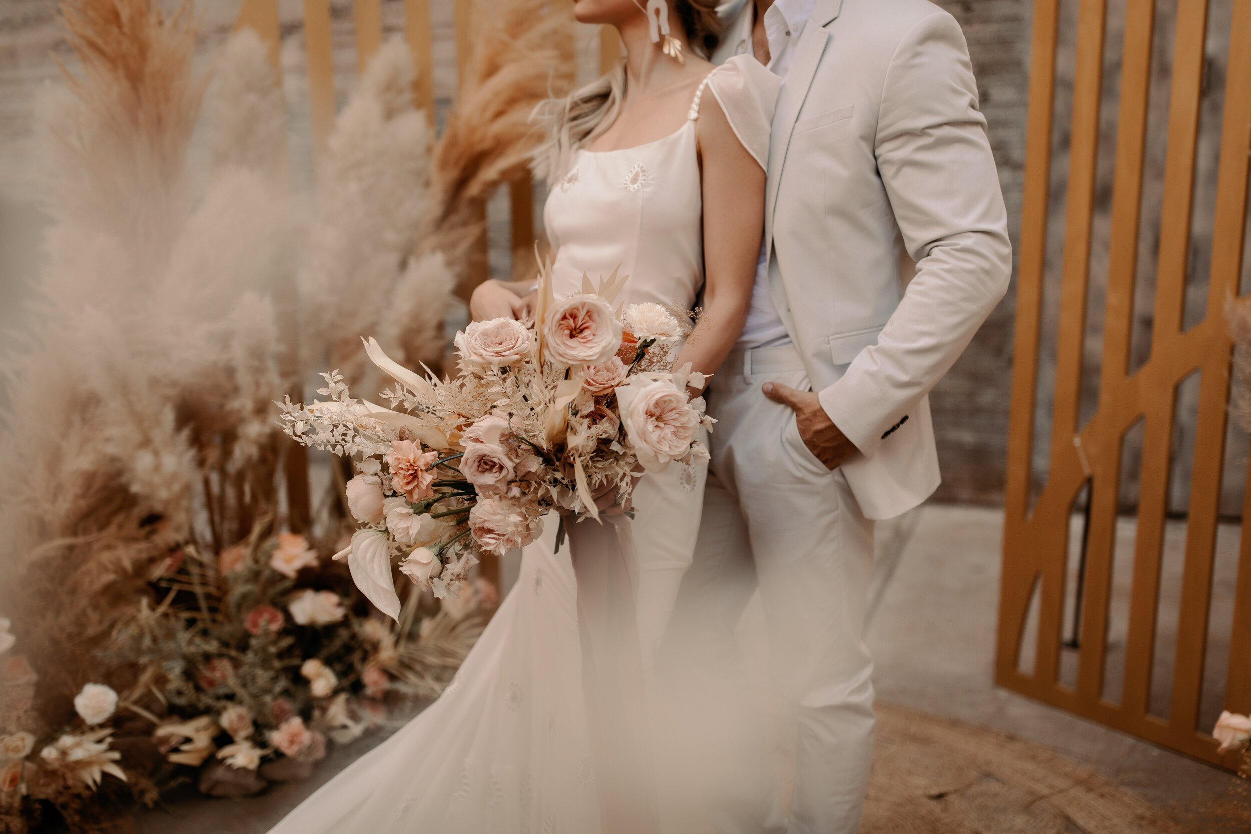 Enchanting, Boho, Elegant, Romantic Elopement
