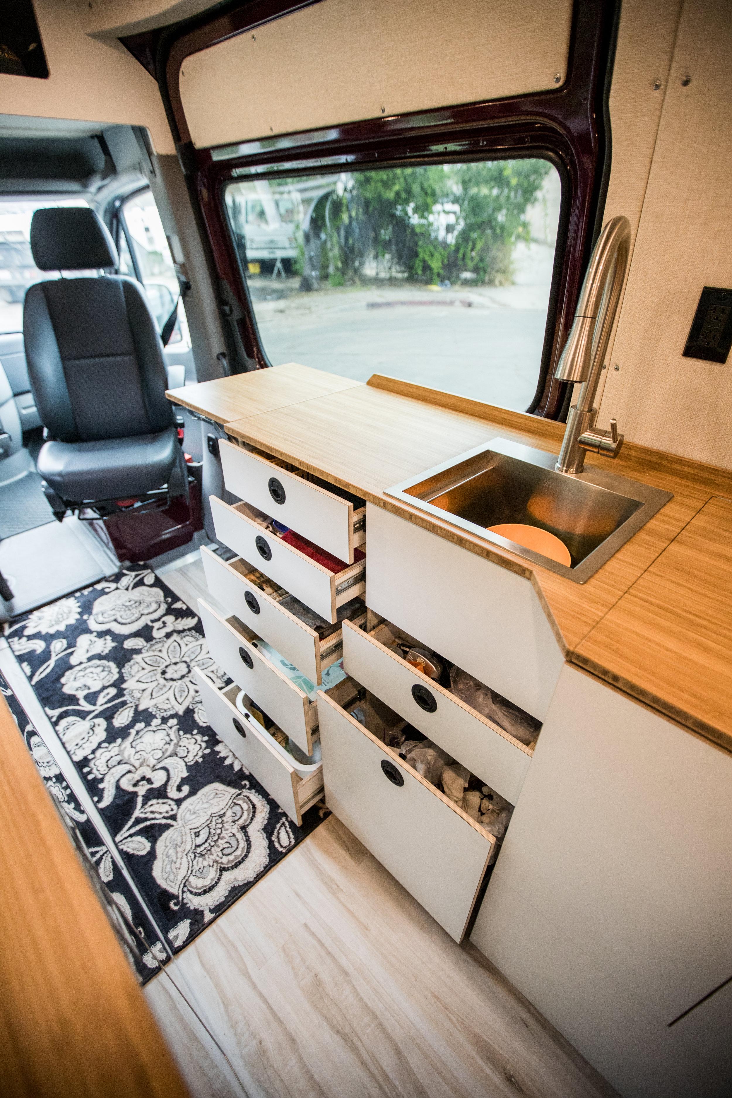 Sprinter Galley Cabinet