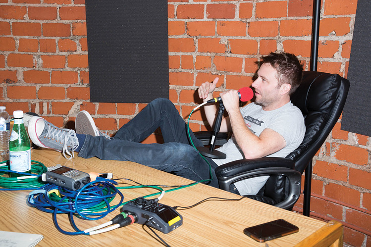 Here's an image of Chris Hardwick recording The Nerdist Podcast, using the Zoom h6 to record 3 Shure SM58's direct. Then he is using the Zoom h4n as an audio back up in case anything goes wrong with the h6    Photo from: WSJ.com
