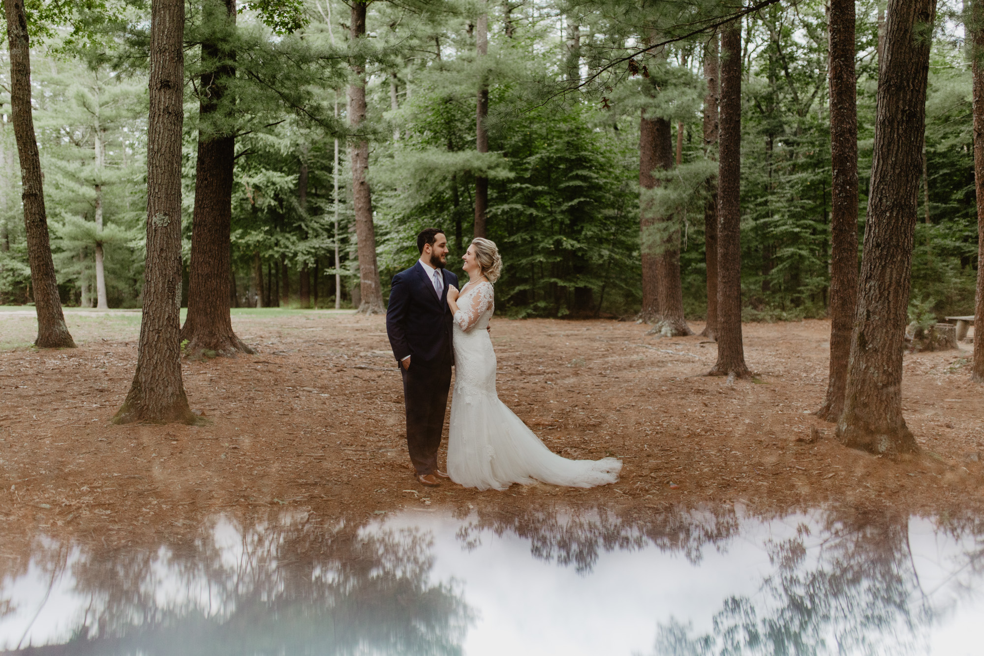 Wedding prism photography
