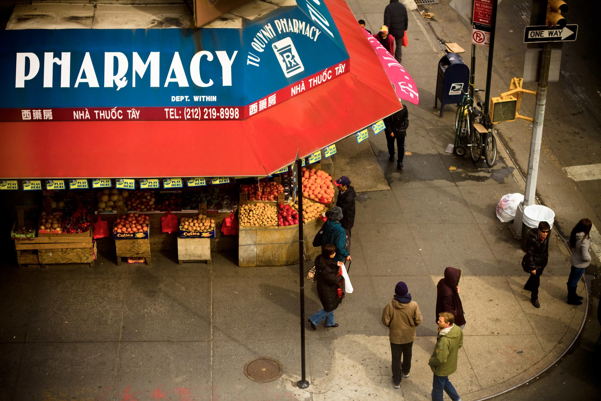 Bowery Corner, NYC