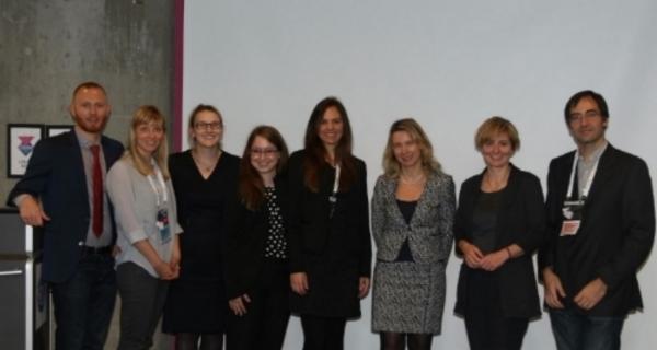 Presenters at the OCT In Focus (EADV 2015): Daniel Thaysen-Petersen, Lotte Themstrup, Martina Ulrich, Sandra Schuh, Nathalie De Carvalho, Julia Welzel, Mette Mogensen, Giovanni Pellacani.