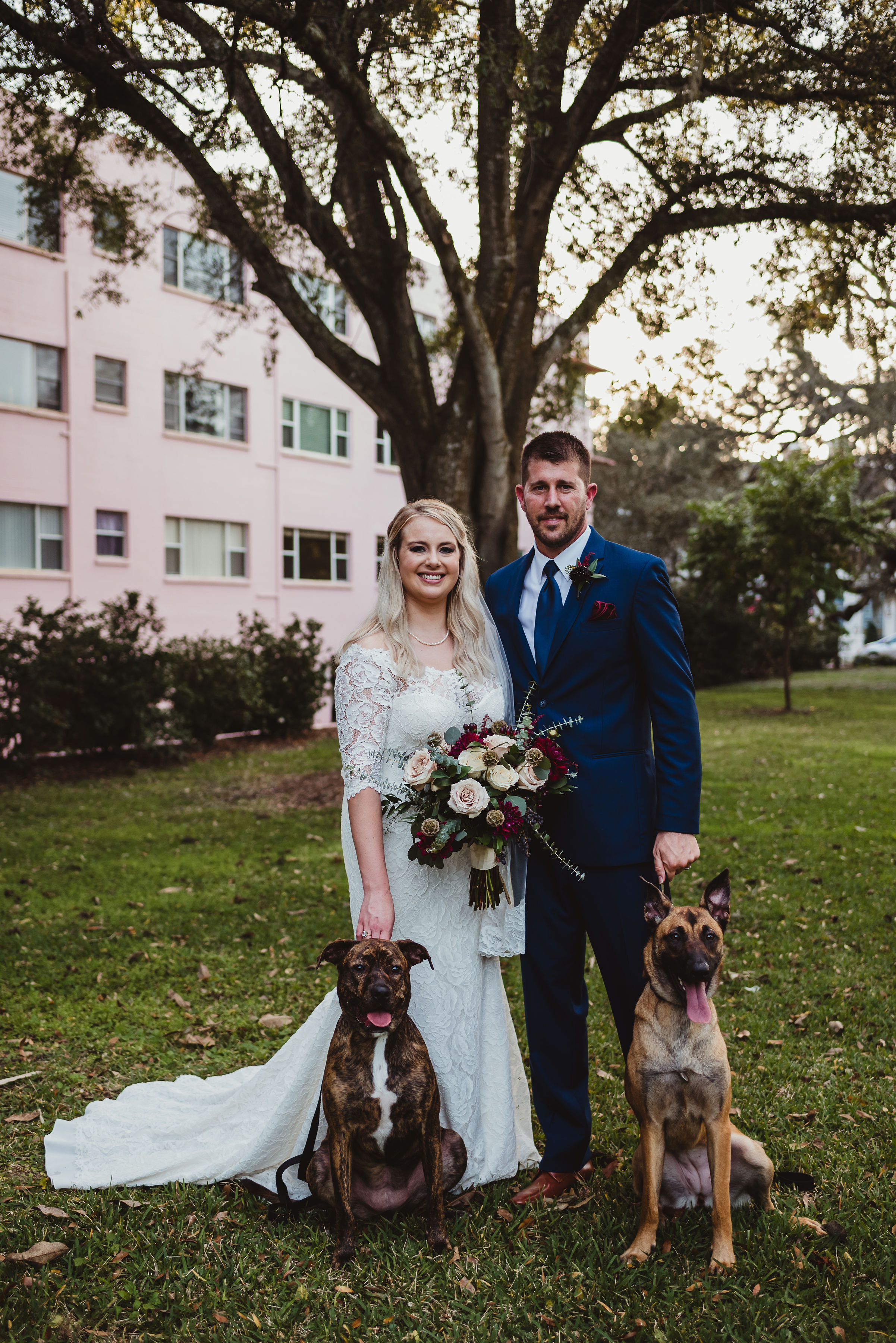 dog-in-wedding-with-bride-and-groom