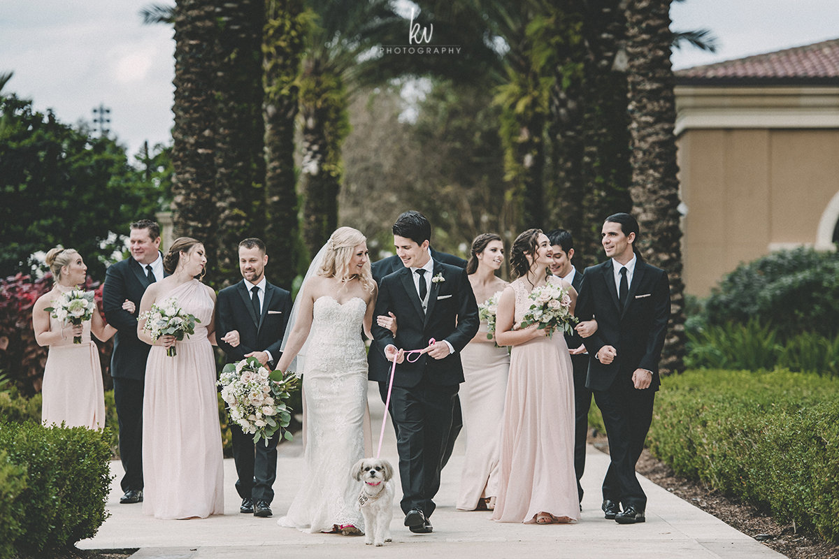 Photo:  KV Photography  / Venue:  Four Seasons Orlando  / Planner:  Pavone Events