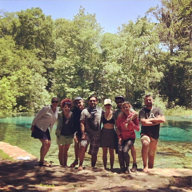 It's good to get out of the office every once in a while to remember what's important. #ichetuckneesprings #adventure #inspiration #teambuilding #lovethiscrew