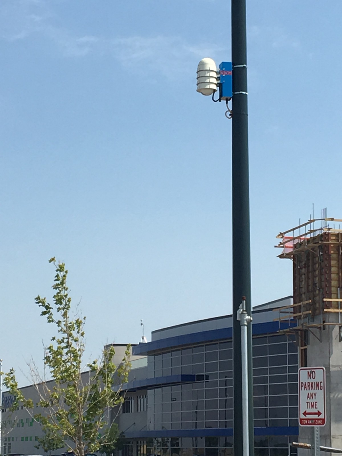 Node 008 installed in Denver (photo by Peter Jacobson)