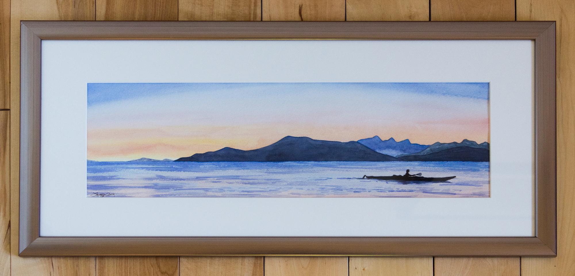 Sunset Kayak - Custom Frame