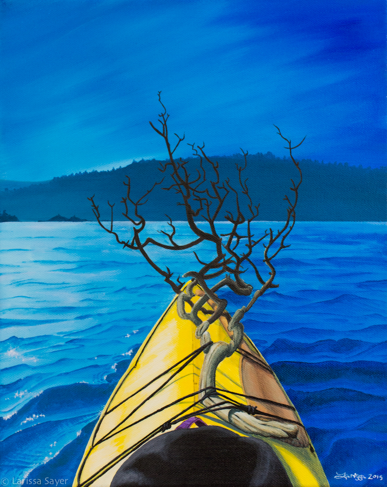 Kayak Series #3: Figurehead