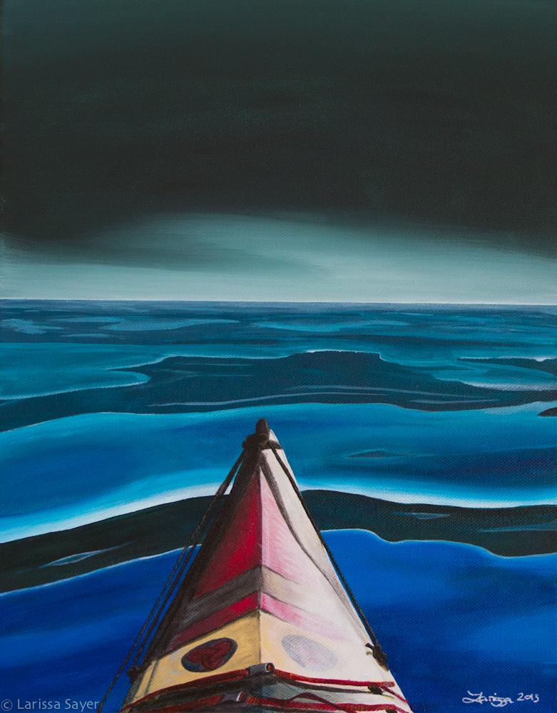 Kayak Series #4: Day's End