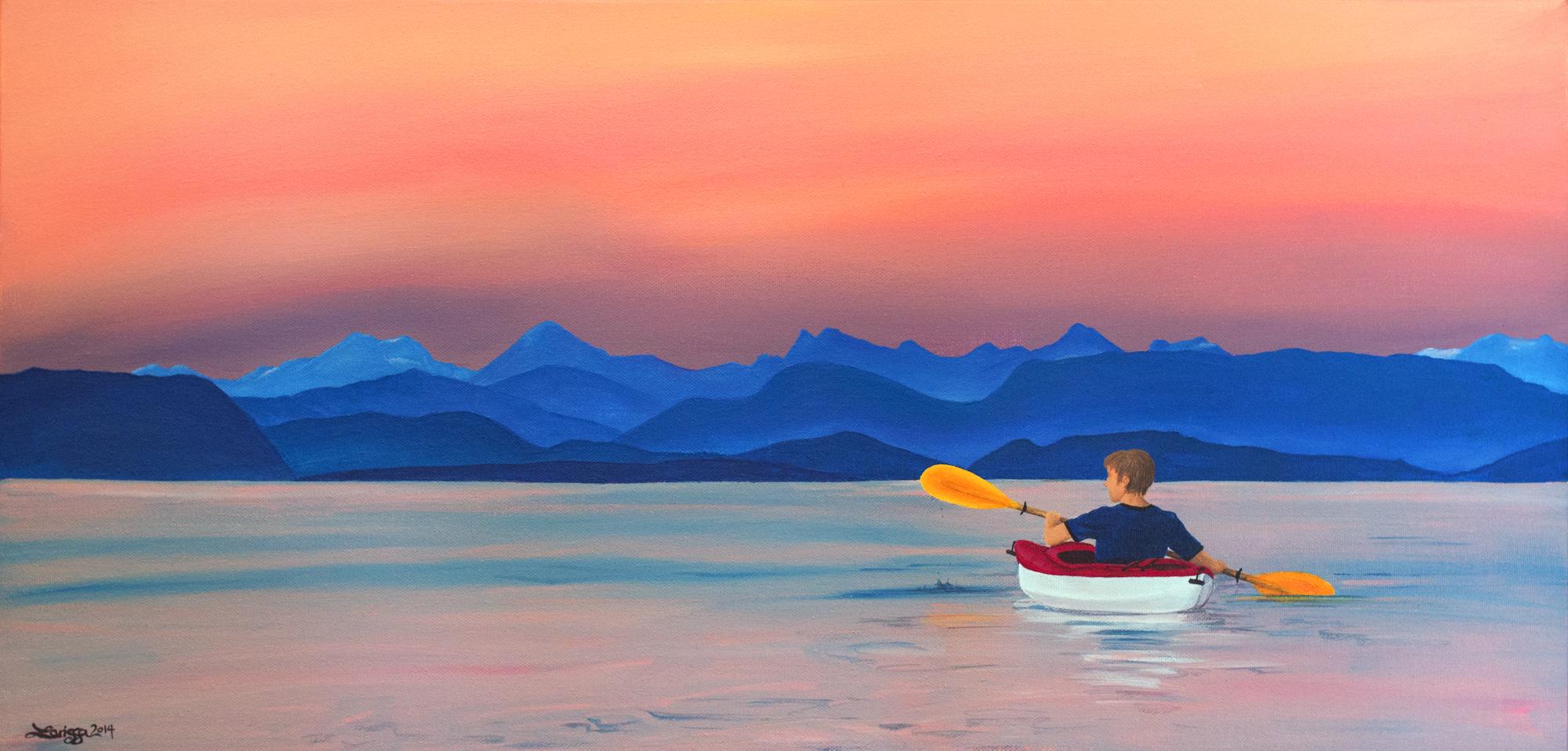 Kayaking Through Heaven