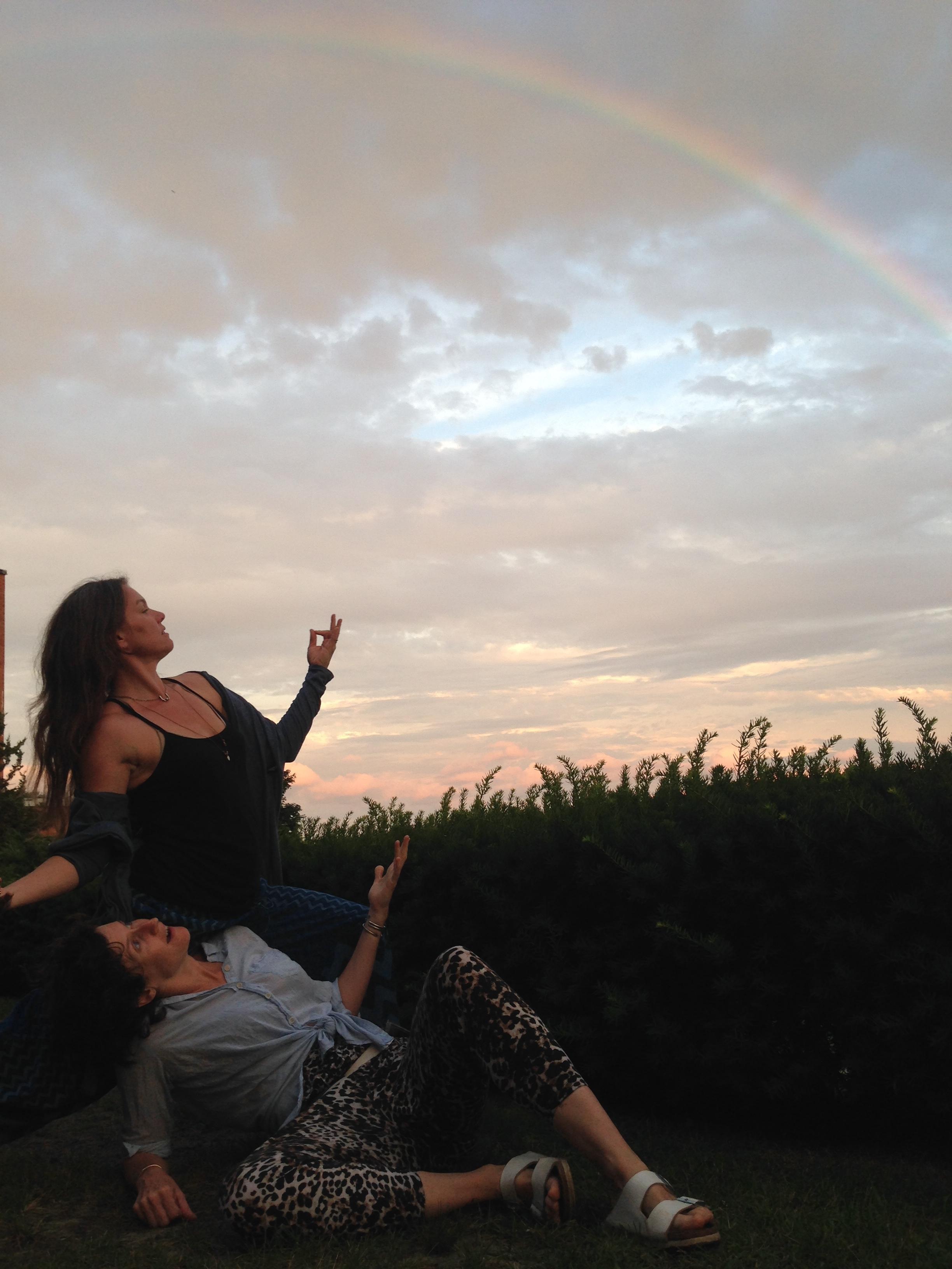 Erin & Alex & a Rainbow