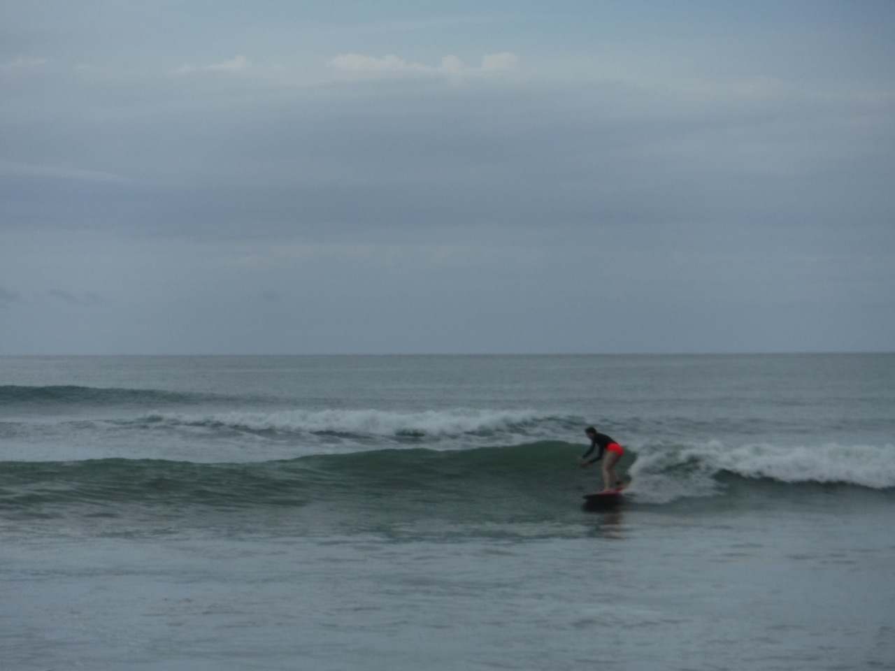 This is actually me surfing