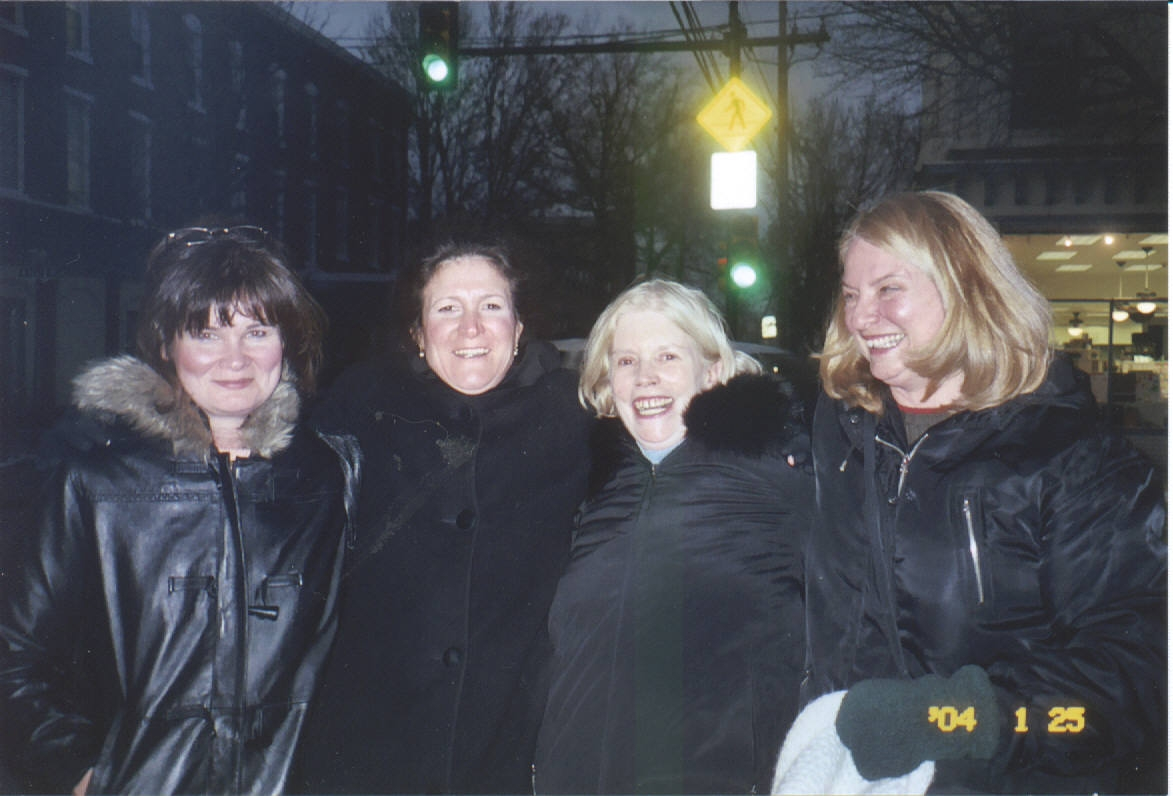 Eileen D'Angelo, Therese Halscheid, Adele Bourne, Joanne Wright