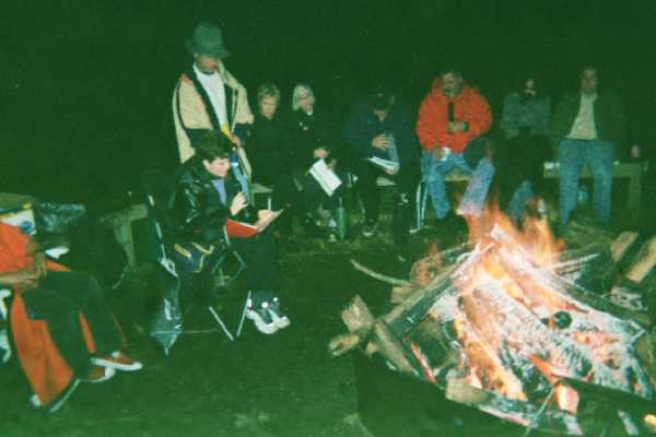 Fall Bonfire: Poetry & Music Under the Stars