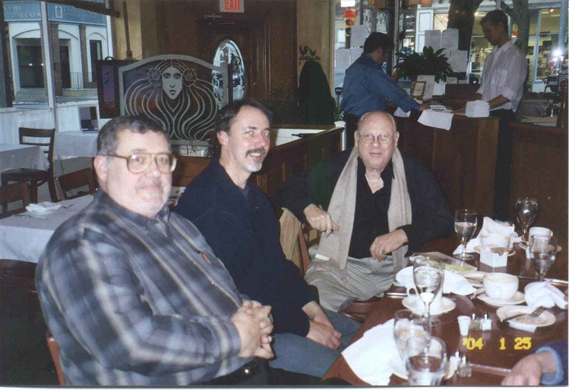 Dan Maguire, Doug Yingling, John Bourne