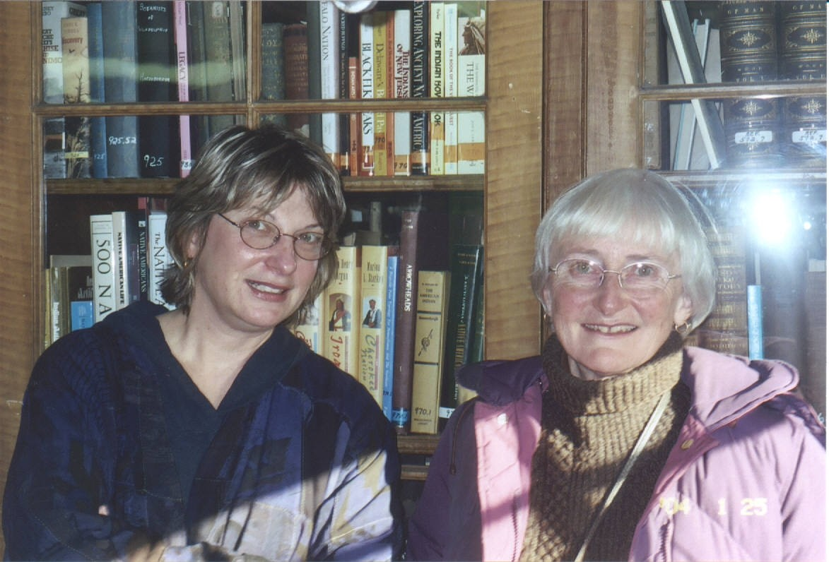 Kathy Fetsko Petrie & Margaret Robinson- Institute of Science