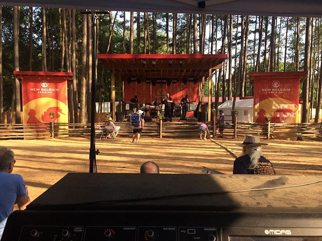 #Roosterwalk Pine Grove stage was chill #livesound #foh #kv2 #m32