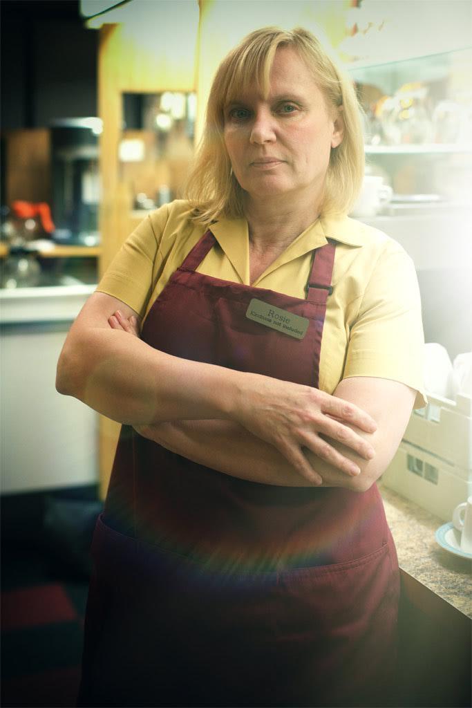 Bonnie Hay as 'The Waitress'