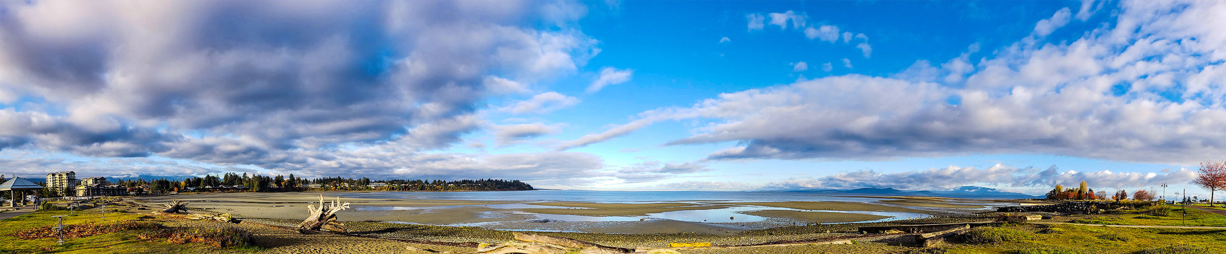 Parksville, Vancouver Island, British Columbia - Community Beach Panorama
