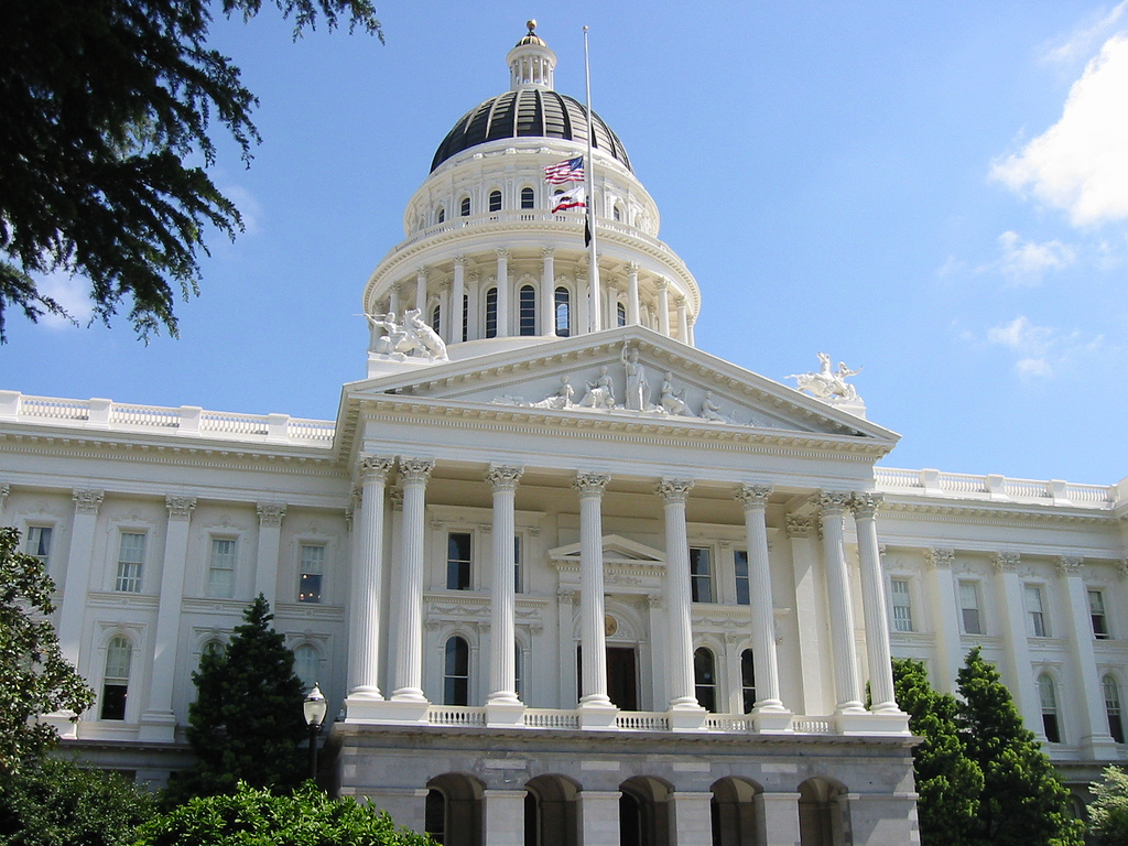 CAlifornia State capitol, Sacramento, CA. (Photo courtesy jjkbach  via flickr creative commons)