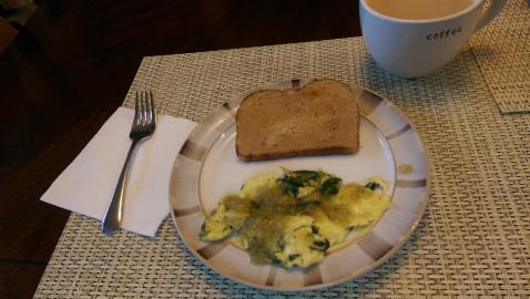 Eggs for breakfast