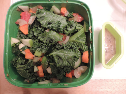 Day 3 lunch: Kale Salad