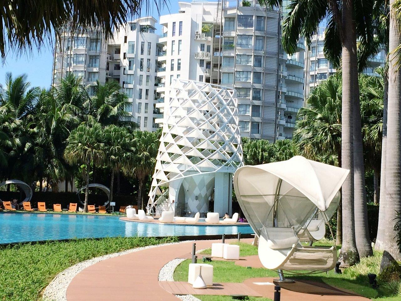Poolside at the W Hotel, Sentosa Resort.jpg