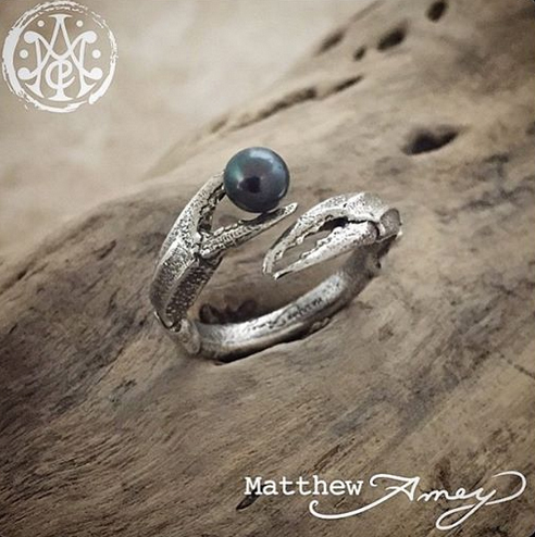 Ring designed by Matthew Amey